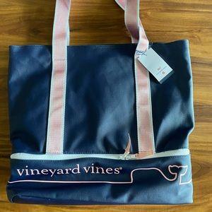 Vineyard Vines x Target Whale Line Tote Bag